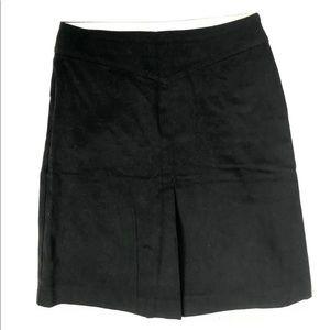 Gap Stretch Black A-Line Skirt